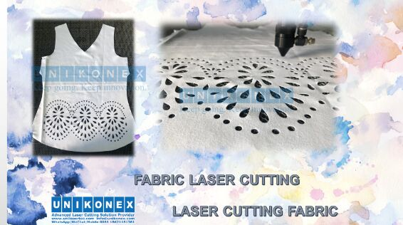 Laser cutting fabric