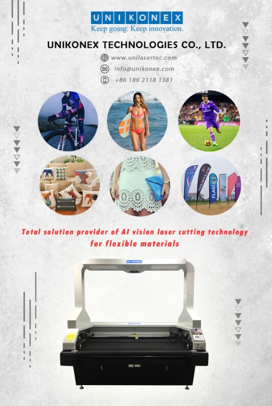 vision laser cutting in sublimation